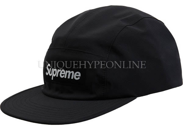 Supreme Gore-Tex Camp Cap Black FW19