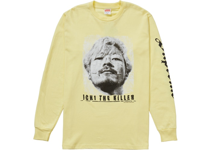 Supreme Ichi the Killer L/S Tee Pale Yellow SS20