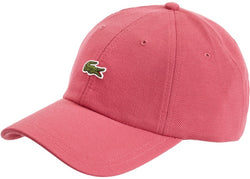 Supreme LACOSTE Pique 6-Panel Pink FW19