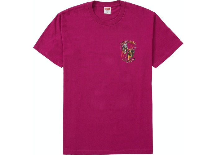 Supreme Laugh Tee Magenta SS20