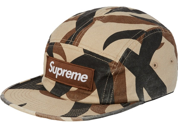 Supreme Military Camp Cap FW19 Brown Tribal