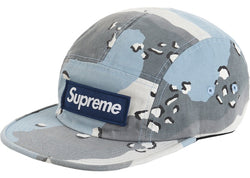 Supreme Military Camp Cap Blue Desert Camo SS20