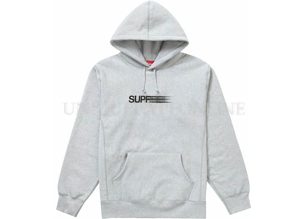 Supreme Motion Logo Hooded Sweatshirt Ash Grey SS20
