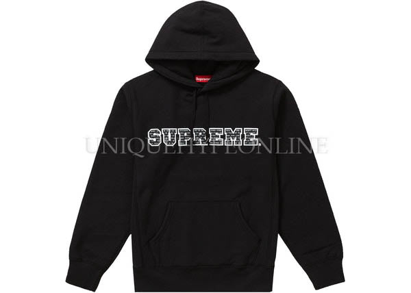 Supreme The Most Hooded Sweatshirt FW19 Black