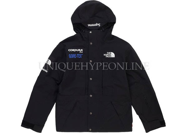 Supreme The North Face Expedition Jacket FW18 Black