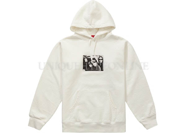 Supreme x The Velvet Underground Hooded Sweatshirt FW19
