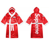 Supreme x Everlast Satin Hooded Boxing Robe FW17