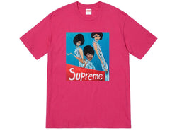 Supreme Group Tee Dark Pink FW18