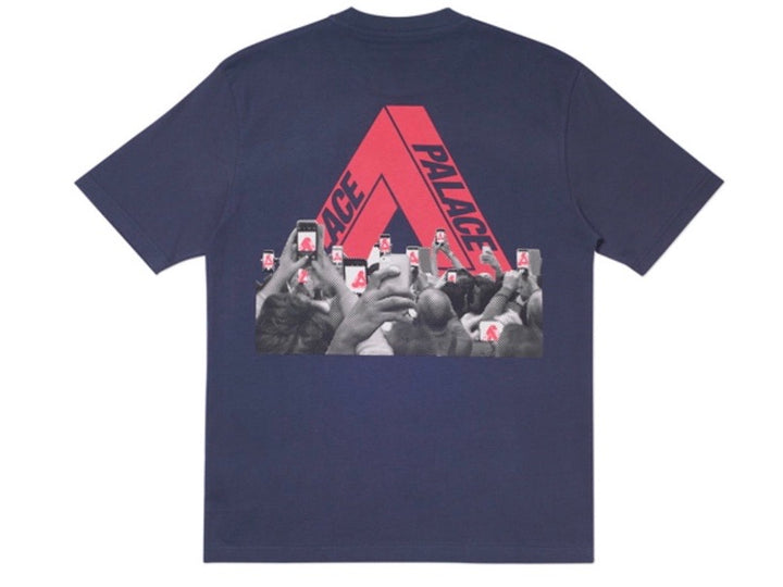 Palace Tri-Phone T-Shirt Navy SS20