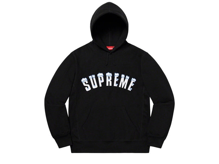 Supreme Icy Arc Hooded Sweatshirt Black FW20