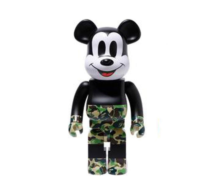 Bearbrick Bape Green Camo 1000%