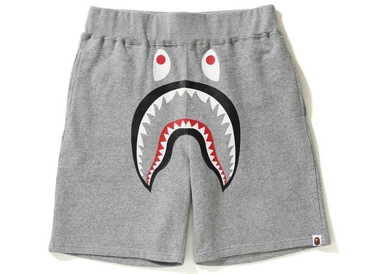 Bape Shark Shorts Grey