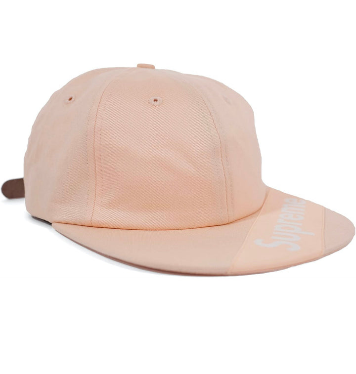 Supreme Visor Label 6-Panel Light Peach SS18