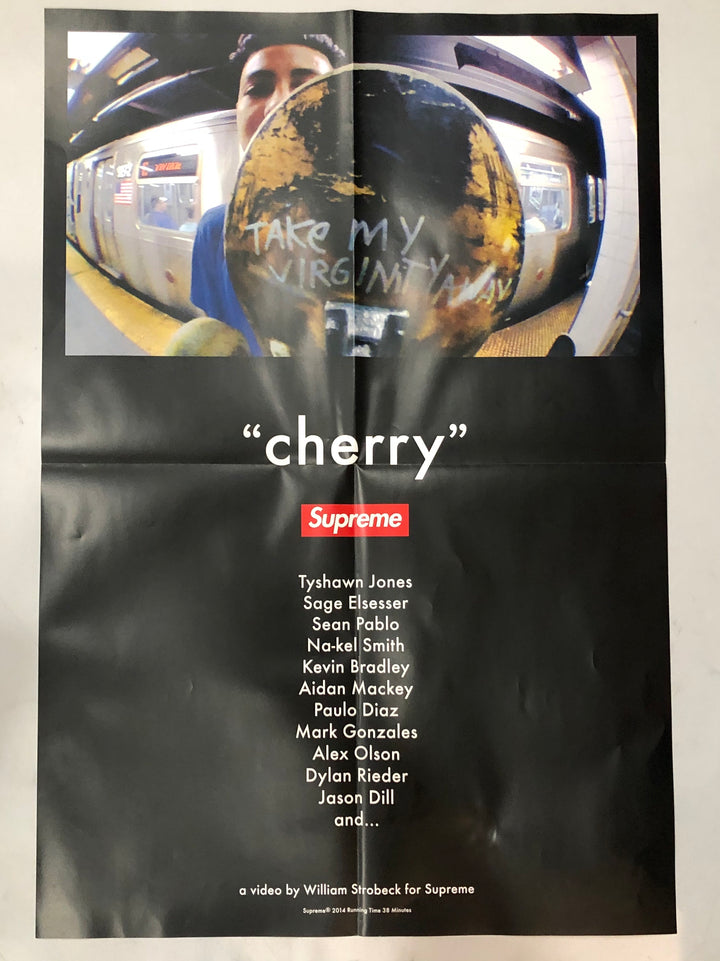 Supreme Cherry Poster SS14