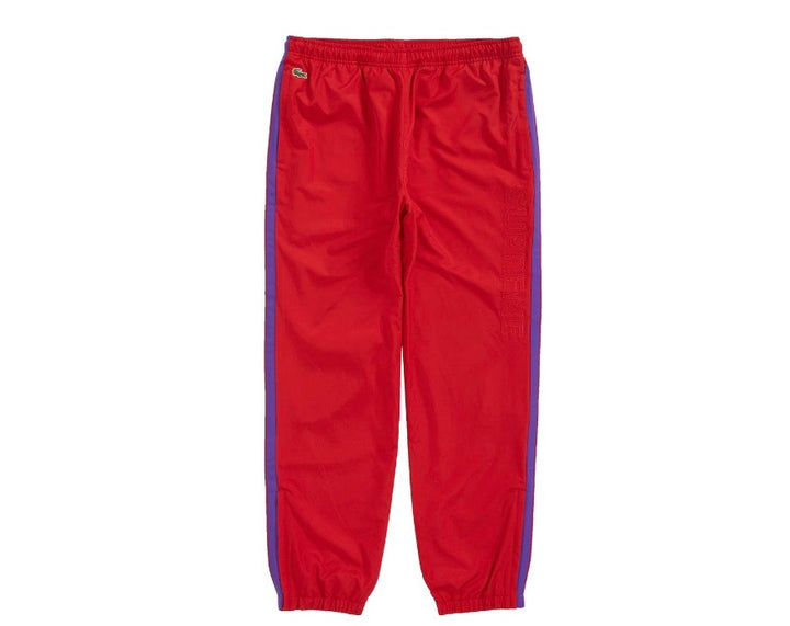 Supreme Lacoste Track Pant Red FW19