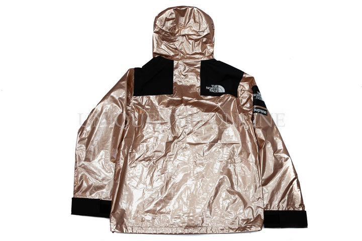 Supreme The North Face Metallic Mountain Parka SS18 Rose Gold