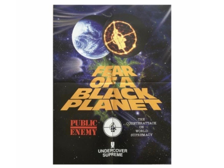 Supreme x Undercover x Public Enemy 'Fear of a Black Planet' Poster