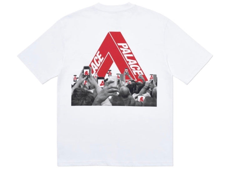Palace Tri-Phone T-Shirt White SS20