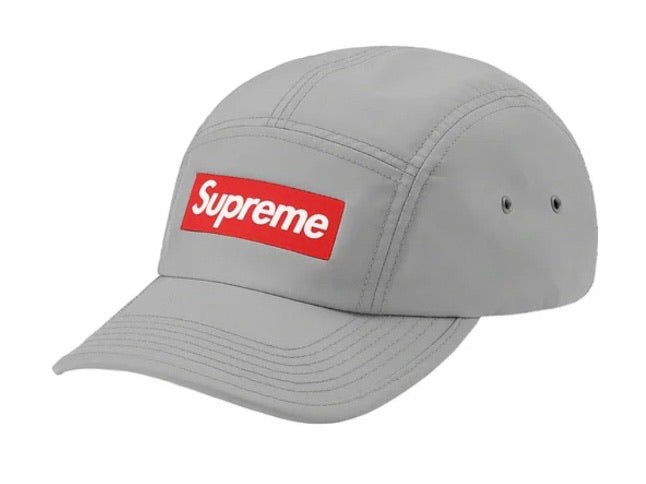 Supreme Inset Logo Camp Cap Grey FW20