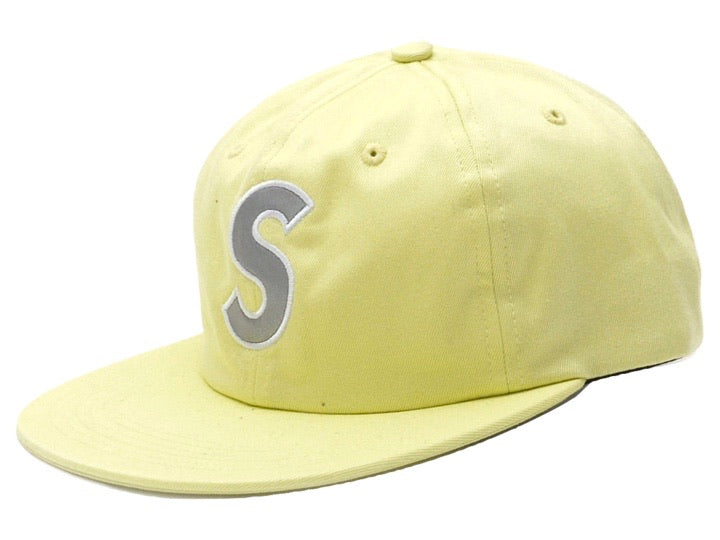 Supreme 3M Reflective S Logo 6 Panel Lime SS16