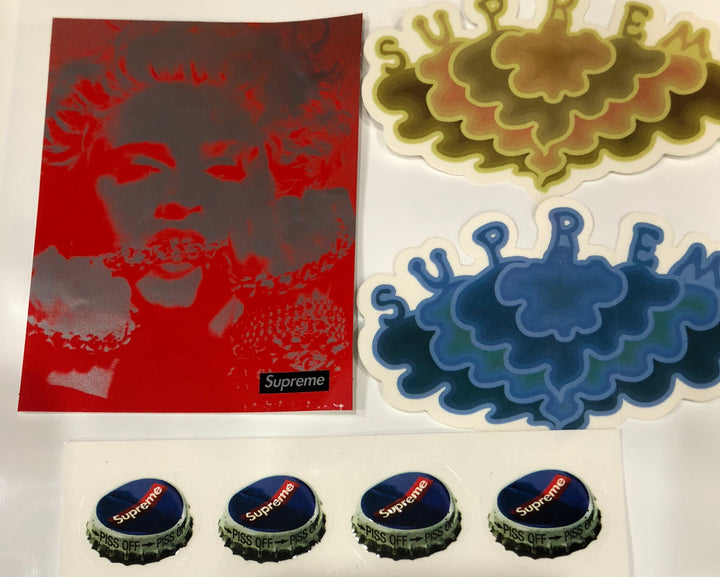 Supreme Sticker Pack Set Of 4