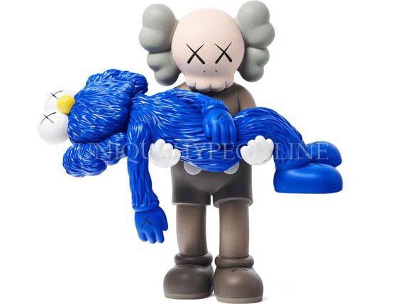 KAWS GONE Figure (Brown)