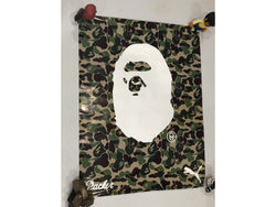 BAPE x Packer x Puma Ape Head POSTER (2015)