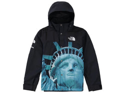 Supreme The North Face Statue of Liberty Mountain Jacket Black FW19