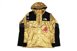 Supreme The North Face Metallic Mountain Parka SS18 Gold