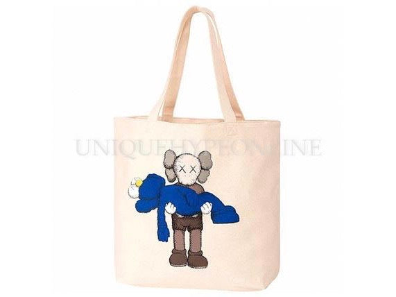 Kaws x Uniqlo Gone Tote Bag