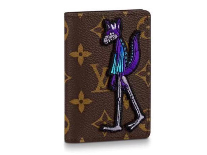 Louis Vuitton Monogram Macassar Pocket Organizer SS21