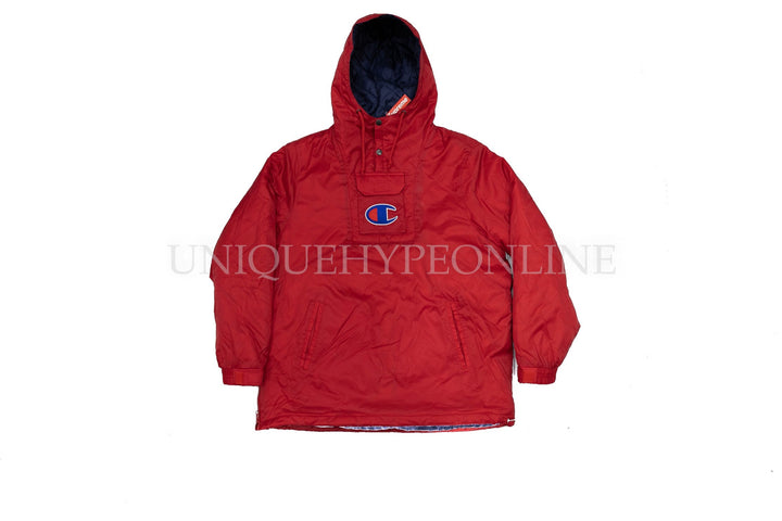 Supreme Champion Pullover Parka SS18 Red