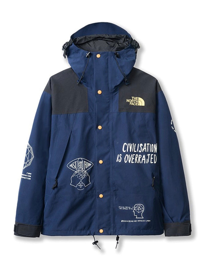 North Face x Brain Dead Civilisation is Overrated Parka
