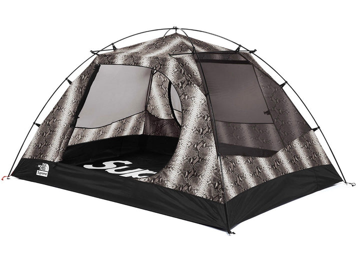 Supreme The North Face Snakeskin Taped Seam Stormbreak 3 Tent Black SS18