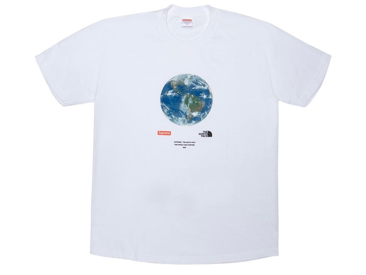 Supreme The North Face One World T-shirt White SS20