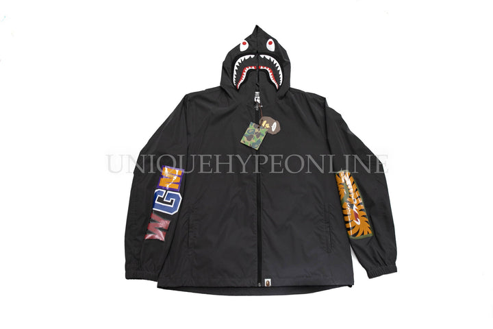 Bape 3M Shark Jacket Dark Grey