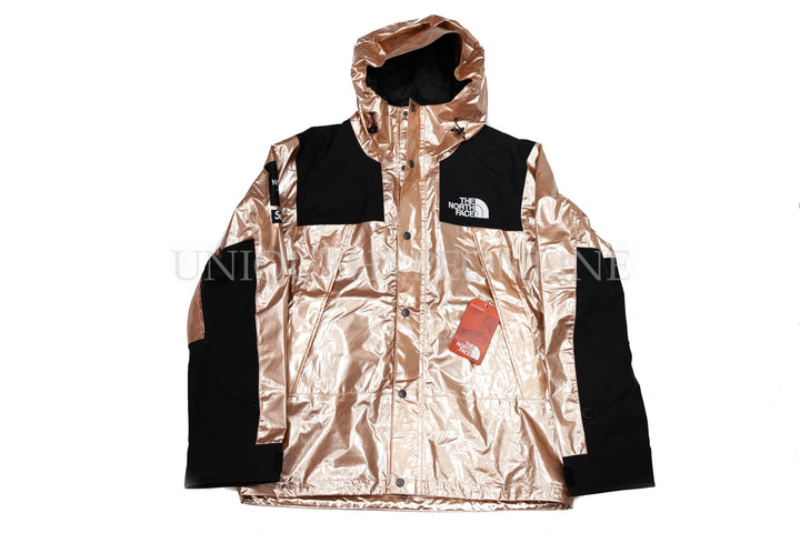 Supreme The North Face Metallic Mountain Parka SS18 Rose Gold ... 65ec13be9