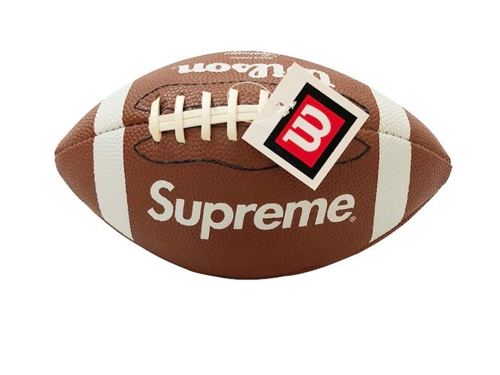 Supreme Wilson American Mini Football Brown FW10