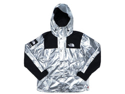 Supreme North Face Metallic Mountain Parka SS18 Silver