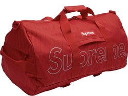 Supreme Duffle Bag FW18 Red