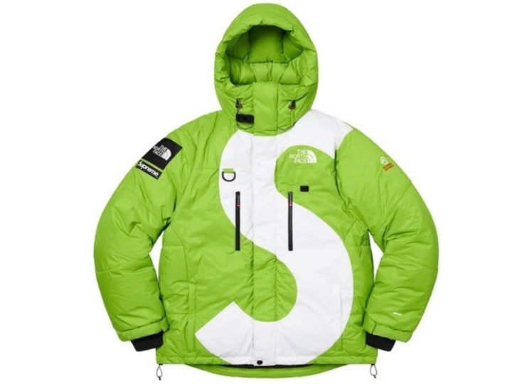 Supreme The North Face S Logo Summit Series Himalayan Parka Lime FW20