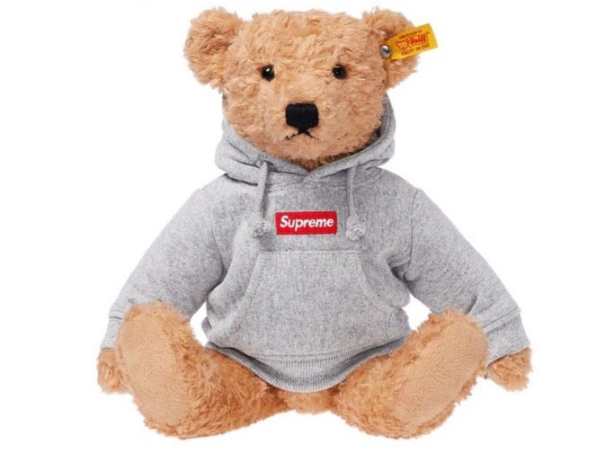 Supreme Steiff Bear Heather Grey FW18