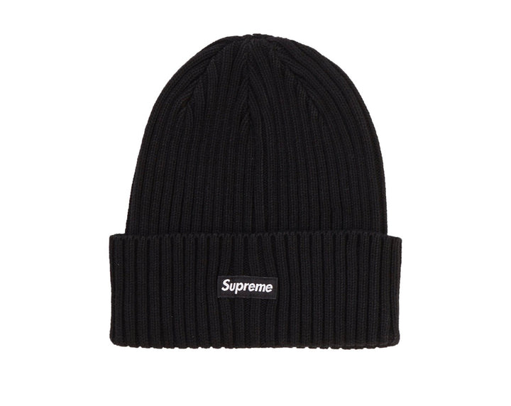 Supreme Overdyed Ribbed Beanie Black SS20