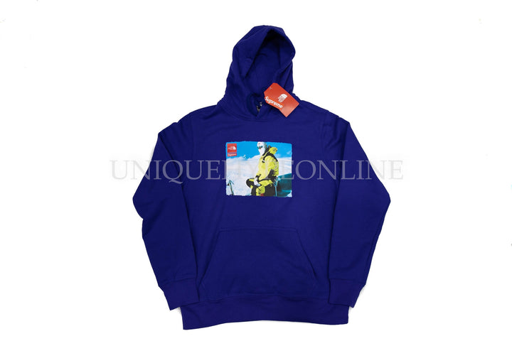 Supreme The North Face Photo Hooded Sweatshirt FW18 Blue