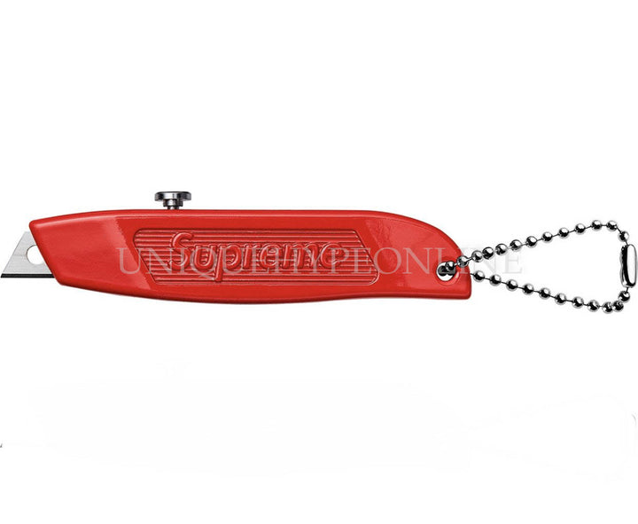 Supreme Box Cutter Keychain Red FW15