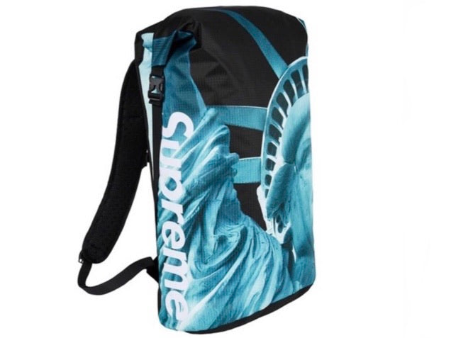 Supreme North Face Statue of Liberty Waterproof Backpack Black FW19