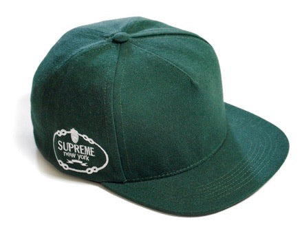 Supreme Harlem 5 Panel Hat Green SS12