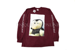 Supreme Mike Kelley AhhYouth! Long Sleeve FW18 Burgundy