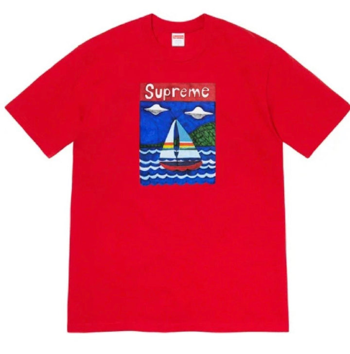 Supreme Sailboat Tee Red SS20