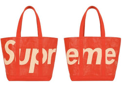 Supreme Raffia Tote Bag Red SS20